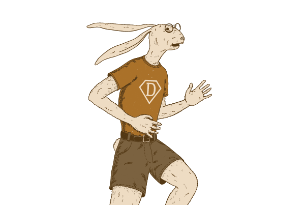 Hare Daredevil / Kiškis drąsuolis