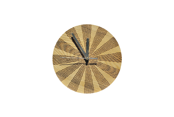 Wooden clock thumbnail