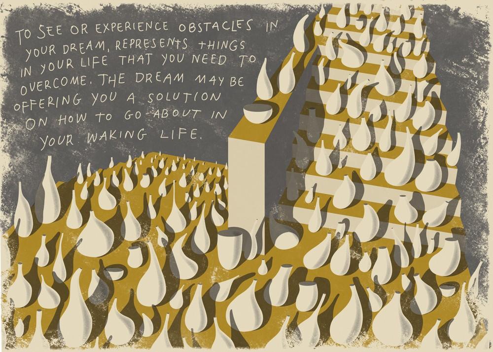 Dreams Obstacles illustration