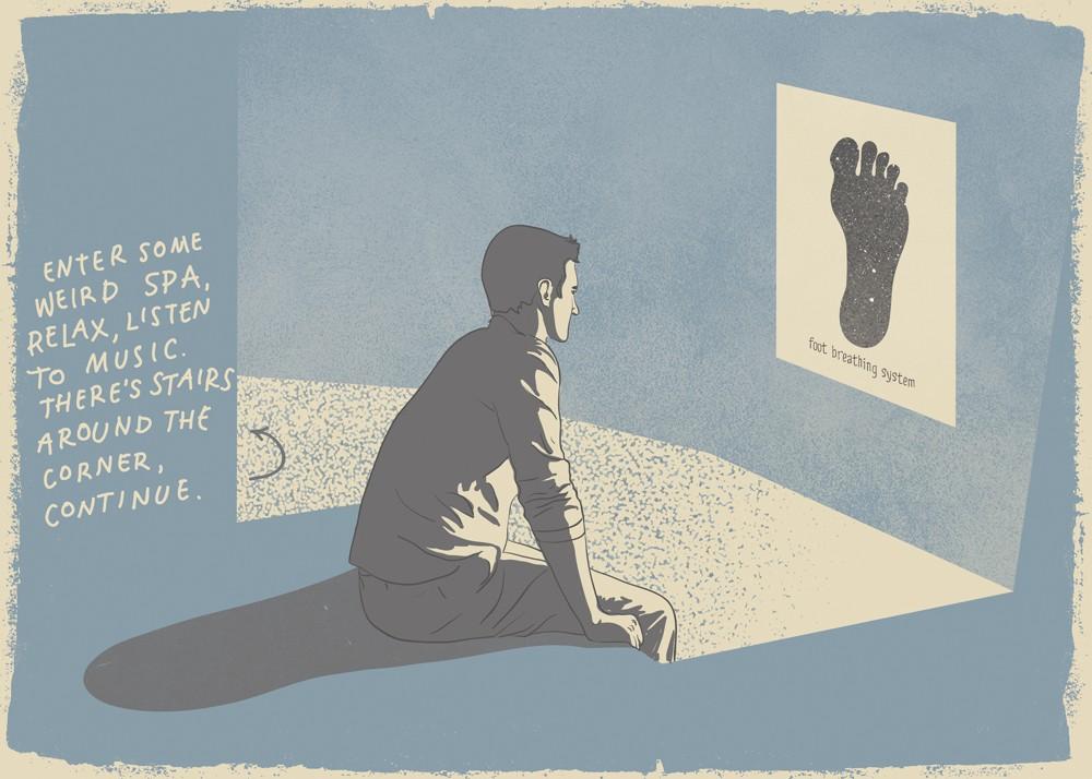 Dreams SPA illustration