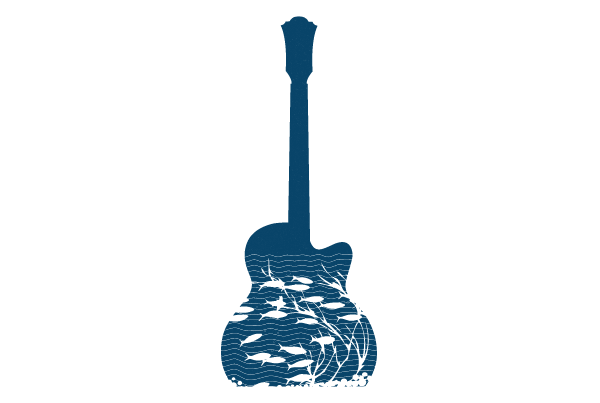 Music guitar illustration